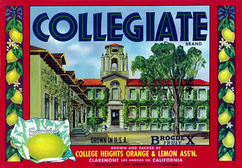Collegiate Heights Label