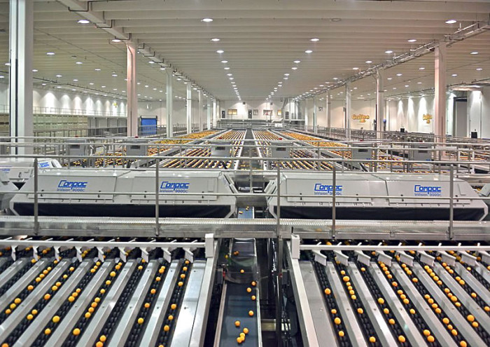 Kern County packing facility