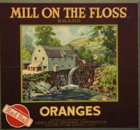 Mill On The Floss Orange Brand